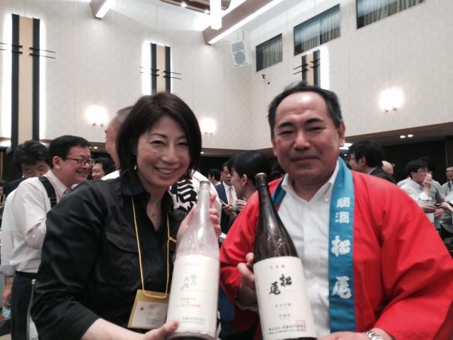 【長野の酒メッセ 2015】株式会社髙橋助作酒造店