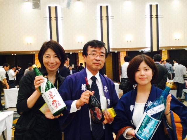 【長野の酒メッセ 2015】信州舞姫・翠露醸造元 株式会社舞姫