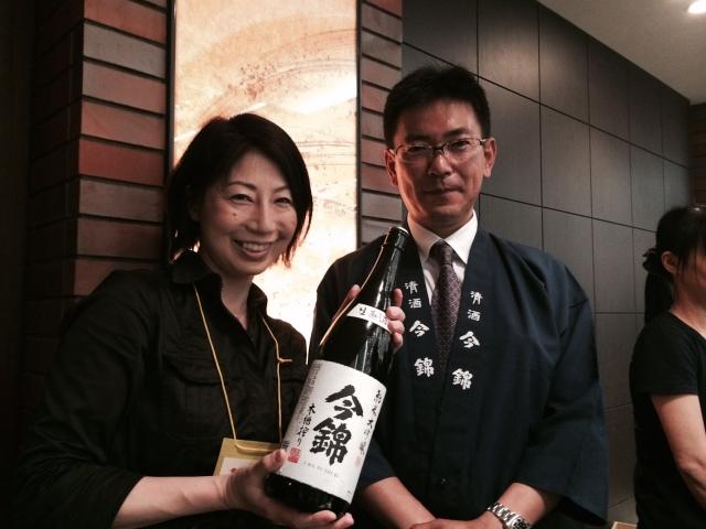 【長野の酒メッセ 2015】清酒今錦蔵元 米澤酒造株式会社