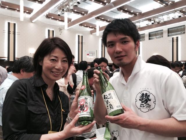 【長野の酒メッセ 2015】株式会社丸世酒造店
