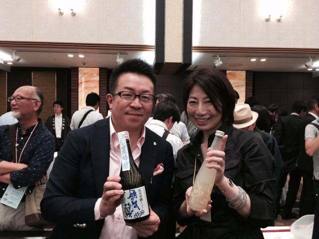 【長野の酒メッセ 2015】信州佐久蔵元 橘倉酒造株式会社