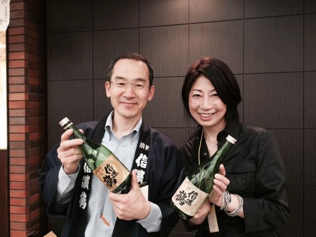 【長野の酒メッセ 2015】信濃鶴 酒造株式会社長生社