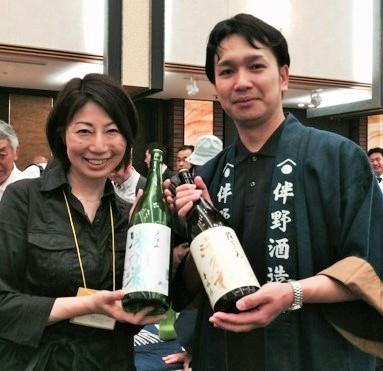 【長野の酒メッセ 2015】伴野酒造株式会社