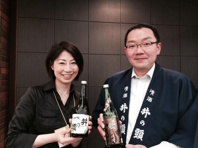 【長野の酒メッセ 2015】清酒井の頭蔵元 漆戸醸造株式会社