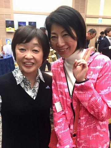 160305静岡マラソン増田明美さんと