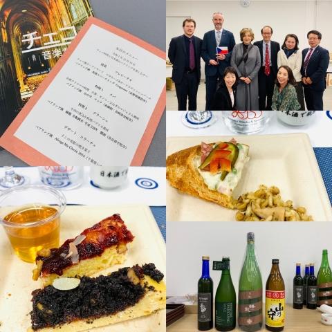 チェコ料理と日本酒のペアリング